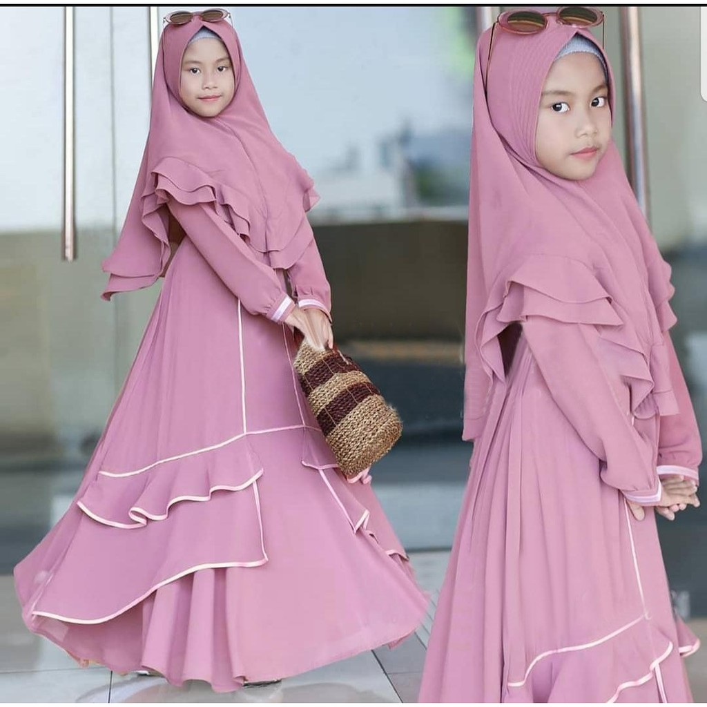 Harga Gamis Cantik Terbaik Dress Muslim Fashion Muslim Maret 2021 Shopee Indonesia