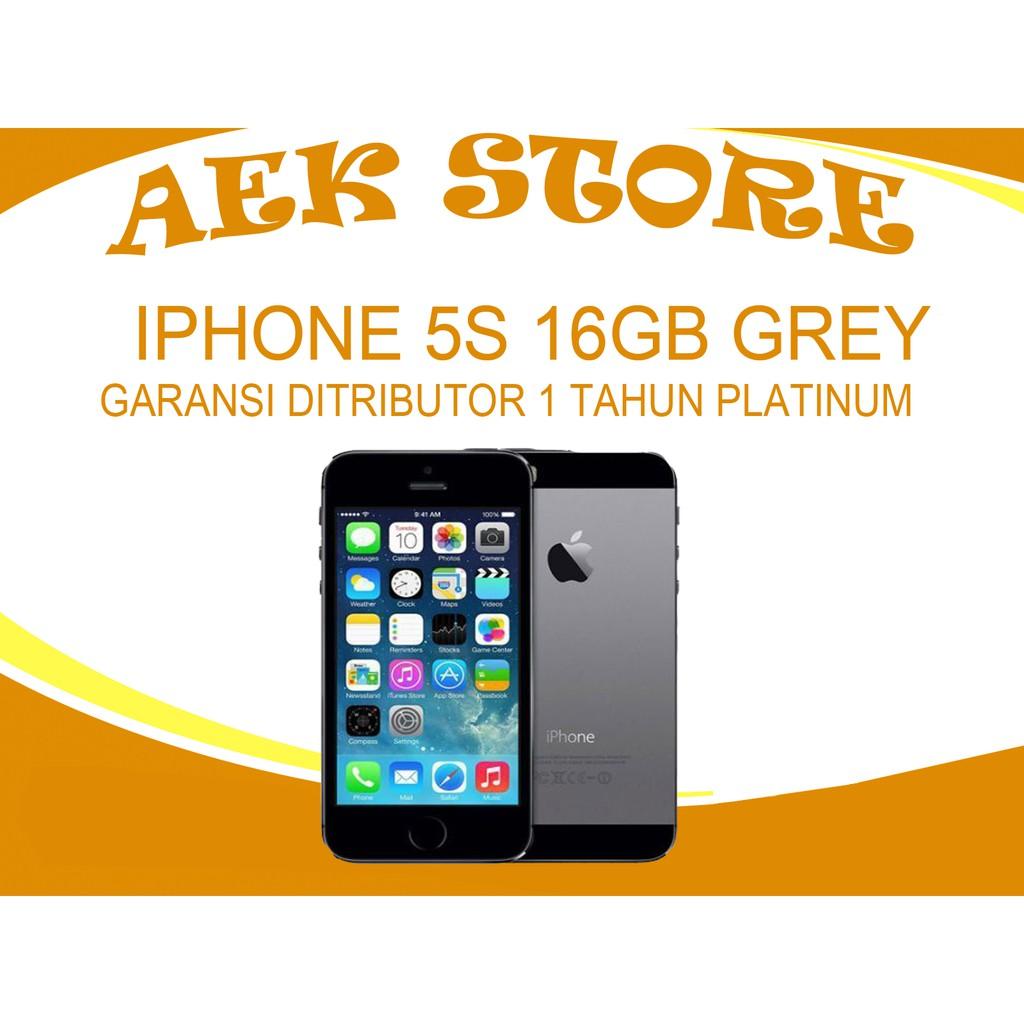 Iphone 5s 16gb Space Gray Garansi Distributor 1 Tahun Shopee Indonesia 5 16 Gb