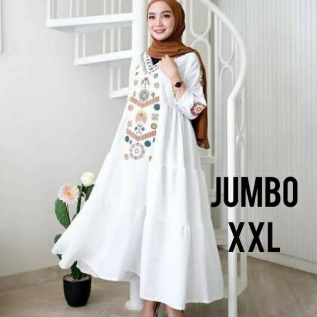 Harga Gamis Putih Terbaik Dress Muslim Fashion Muslim Januari 2021 Shopee Indonesia