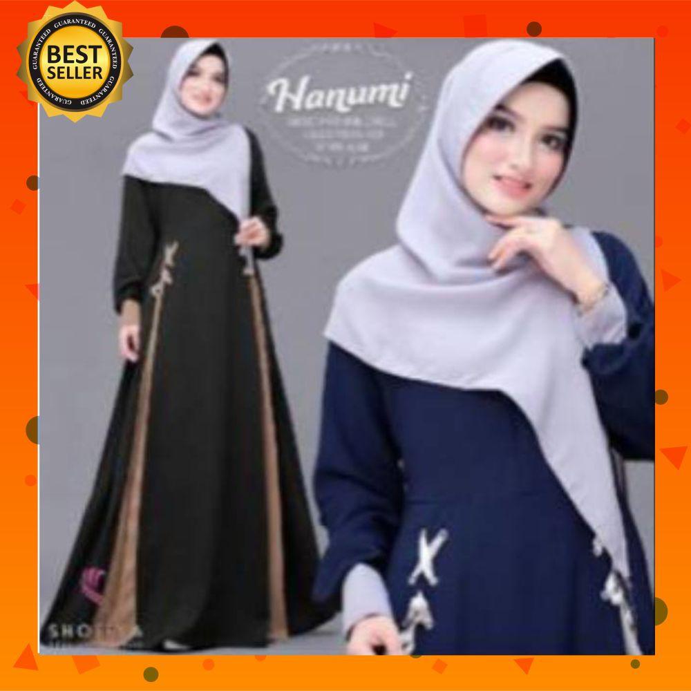 Gamis Remaja Modern/ Hanumi Gamis Wanita Terbaru Dress Muslim /Gamis Wanita