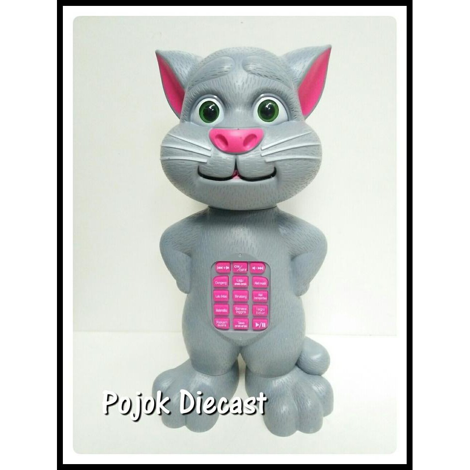 SPECIAL Mainan Boneka Tomcat (Jumbo) Bernyanyi Dan Mendongeng Bahasa  Indonesia PALING MURAH  d2cecb26e5