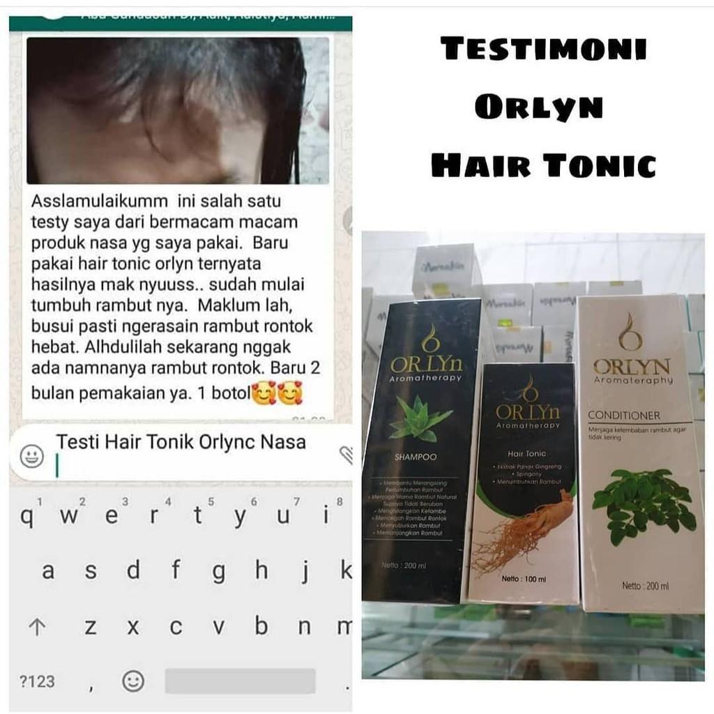 Orlyn Shampoo Original Nasa Mengatasi Masalah Rambut / Stockist Original Nasa-4