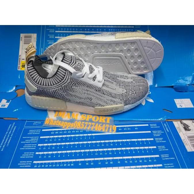Sepatu Pria - Adidas NMD R1 PK Japan Black - PRM  ce3a0d4cec
