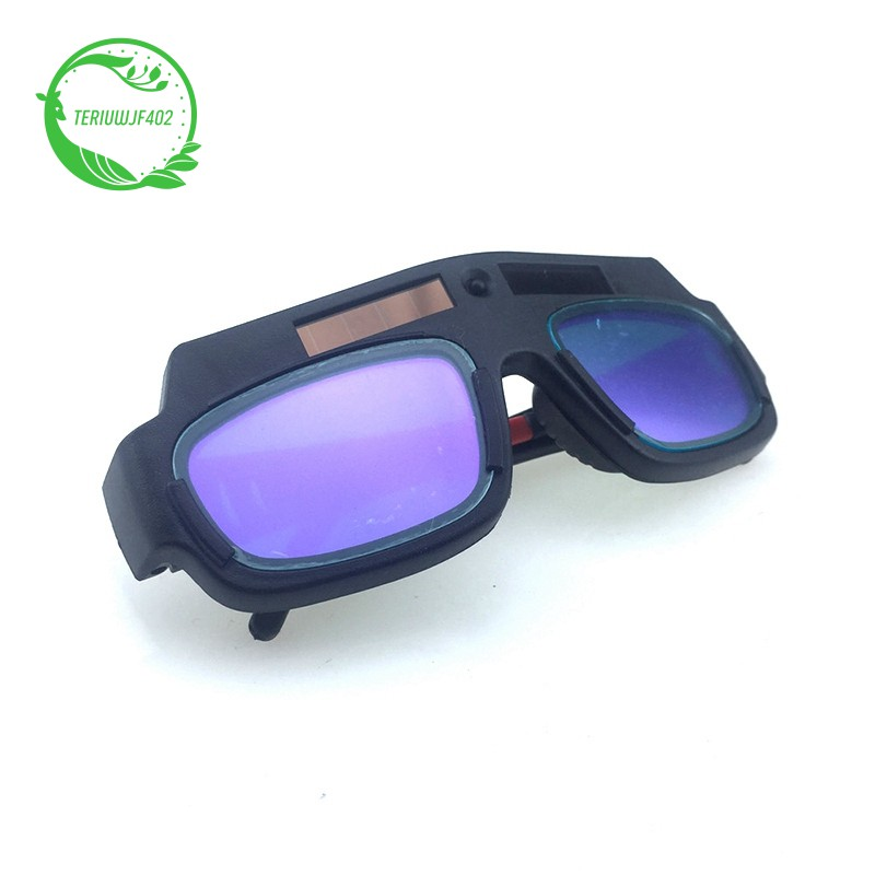 Solar Powered Auto Darkening Welding Mask Helmet Goggle Welder Anti-Strong Light