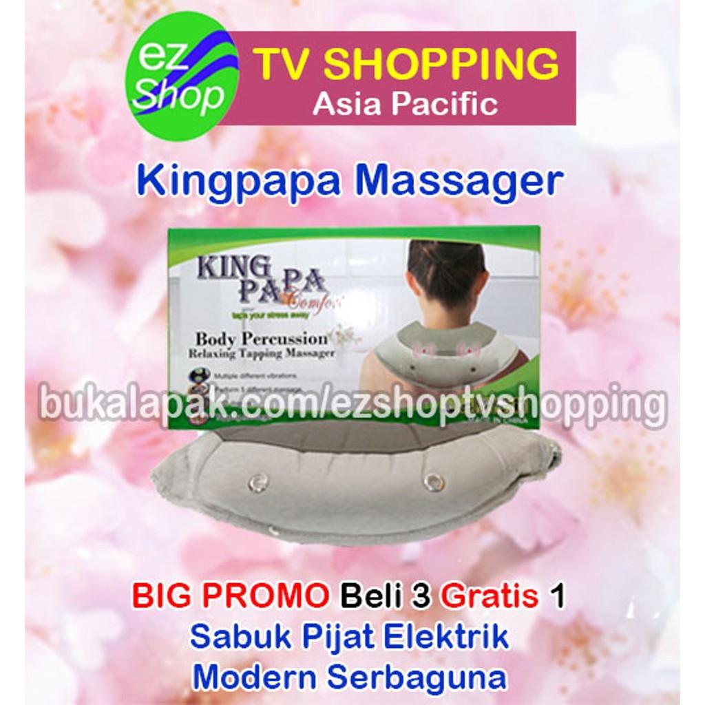 Alat Pijat Elektrik Sabuk Pemanas Fisioterapi King Papa Ez Digiwell Akupuntur Seperti Reiki Michiko Shop Tv Shopping Murah Shopee Indonesia