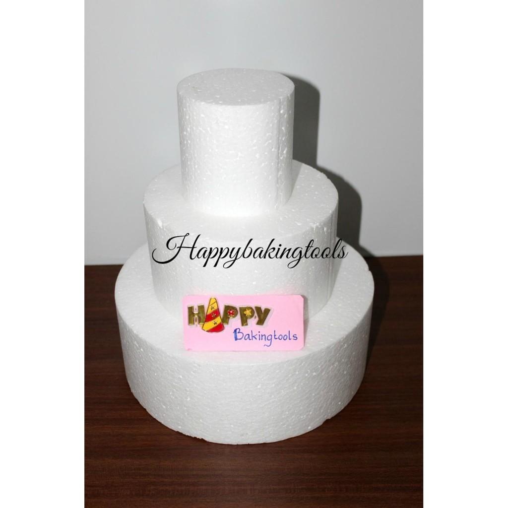 Jual Dummy Tier Cake Dummy Wedding Cake Dummy Styrofoam Bulat Alat Dekorasi Kue Limited Shopee Indonesia