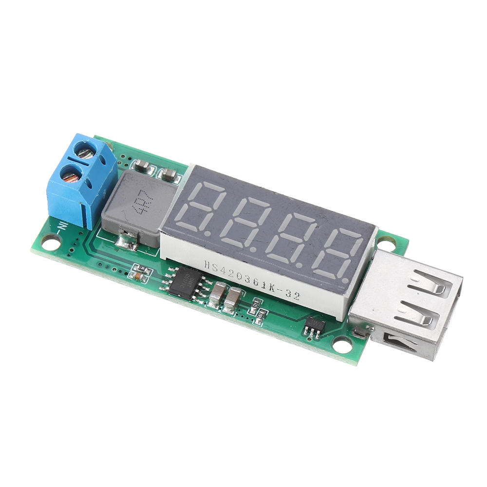 5V USB Input to 12V Output DC-DC Step Up Boost Power Supply Converter Module TK