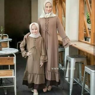 Baju Gamis Syari Wanita Murah Lutfia Syari Shopee Indonesia