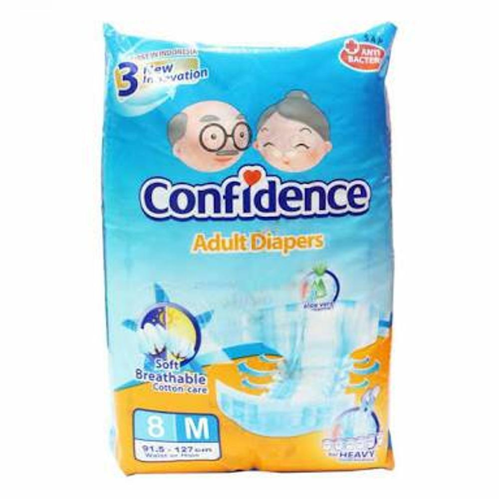 M5 L4 Confidence Popok Dewasa Pants Adult Diapers Shopee Indonesia Drkang Xl8