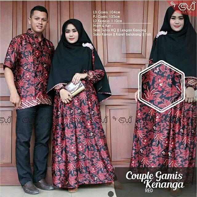 Batik Couple syari baju lebaran baju gamis batik jumbo dress jumbo xxl  89e9d29d47
