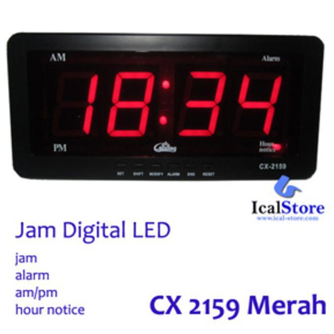 Jam Dinding Dan Duduk Jh 828 Digital 30x85cm Segi Panjang Power ... ef8630a140