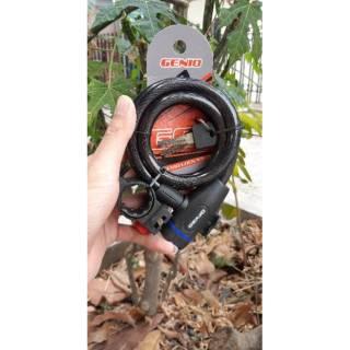 Perbandingan harga Kunci gembok sepeda genio spiral 302 lowest price - only Rp28.480