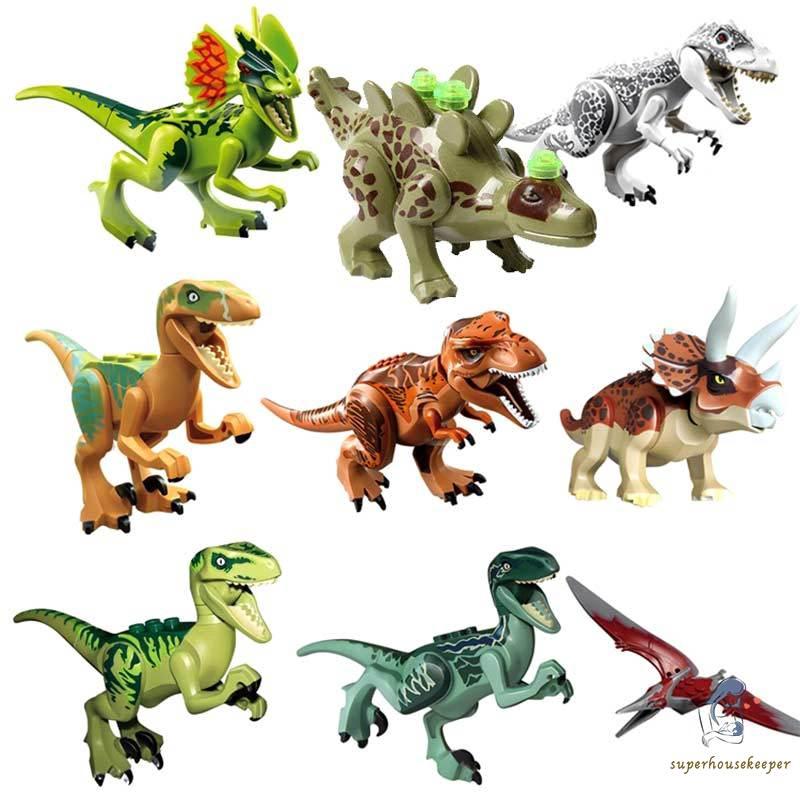 Mainan Anak Action Figure Dinosaurus Film Jurassic Park World Mini Shopee Indonesia