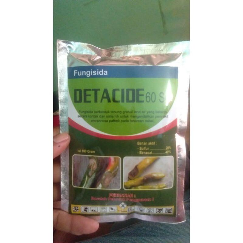 fungisida detacide 60sg untuk pathek