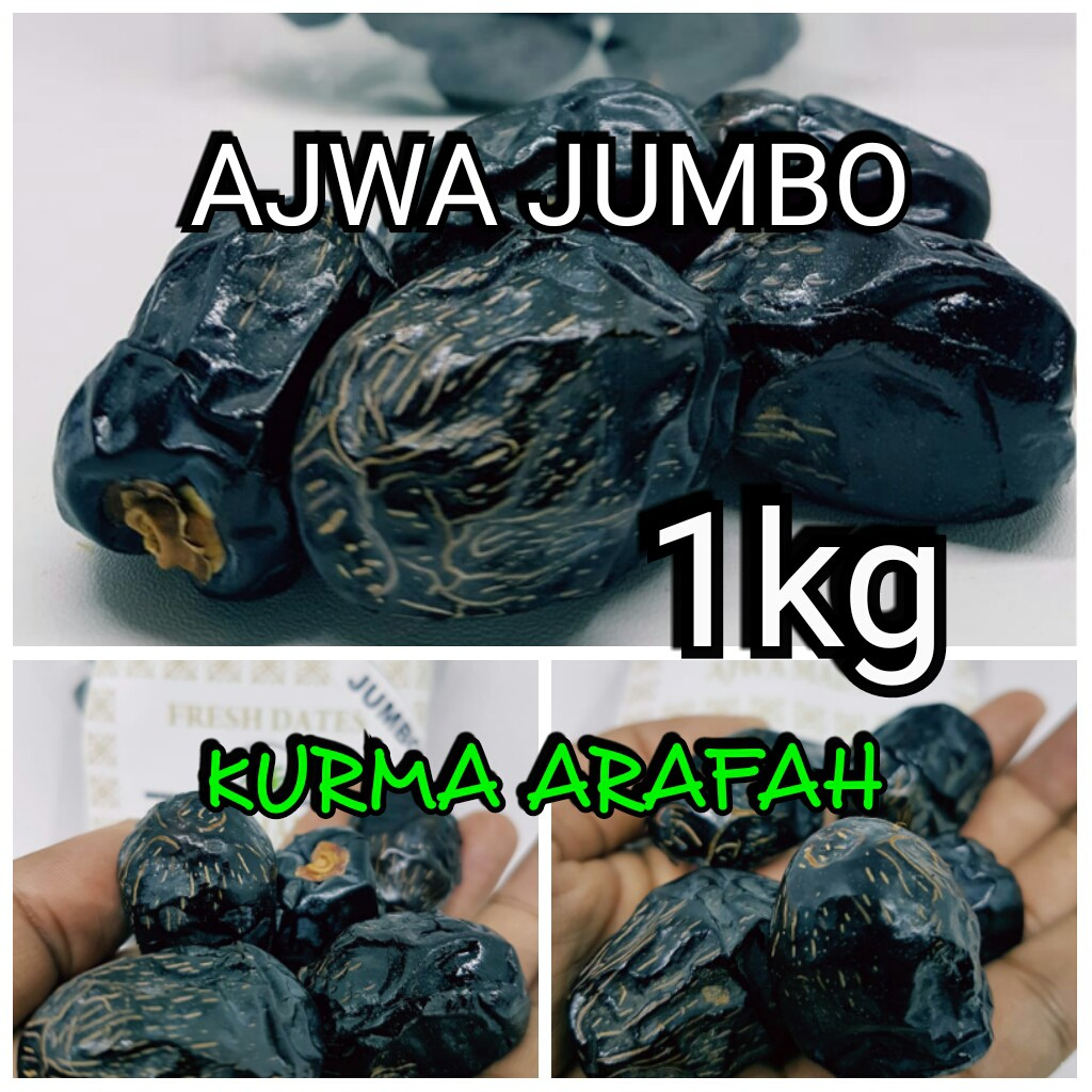 Kurma Ajwa Jumbo 1kg Premium Super Xl Shopee Indonesia Packing 1 Kg