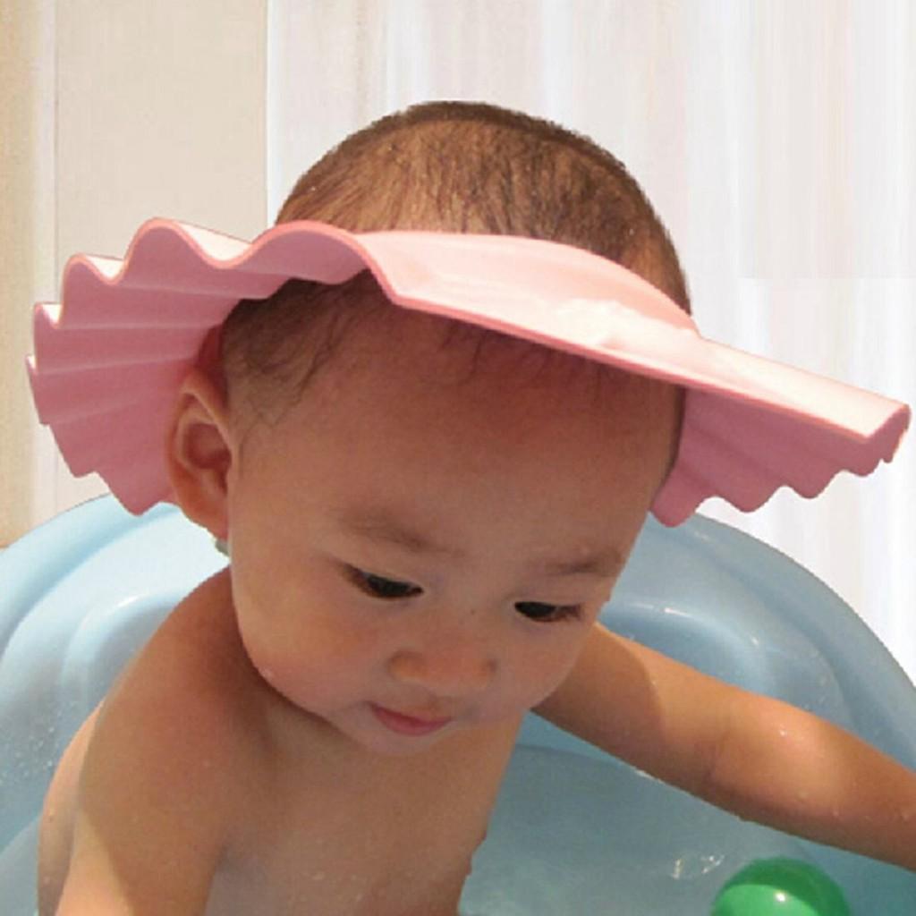 Dapatkan Harga Topi Bayi Diskon Shopee Indonesia Pelindung Air Keramas Baby