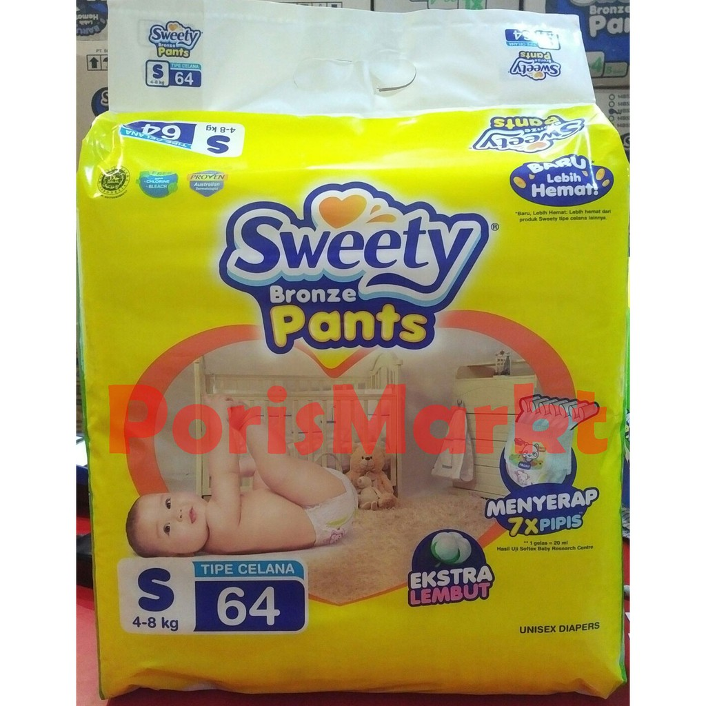 Sweety Baby Wipes 80 Non Perfumed Porismarkt Shopee Indonesia Tissue Basah Parfum Isi Plus 4