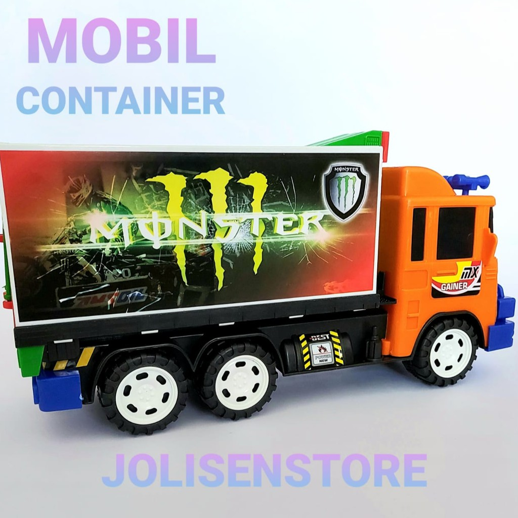 Mobil Box Mainan Mobil Container Mainan Mobil Mainan Besar Mobil Bok Mainan Mainan Anak Lakilaki Shopee Indonesia