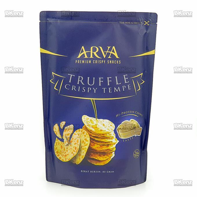 Favorit Arva Truffle Keripik Tempe Crispy Truffle Shopee Indonesia