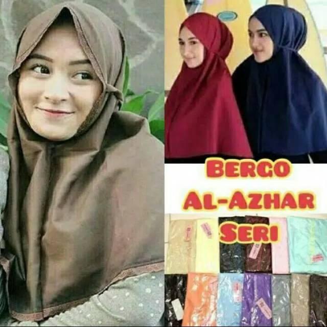 Jilbab Bergo Maryam Renda Shopee Indonesia