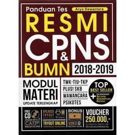 Buku Cpns Panduan Tes Resmi Cpns Bumn 2018 2019 Shopee Indonesia