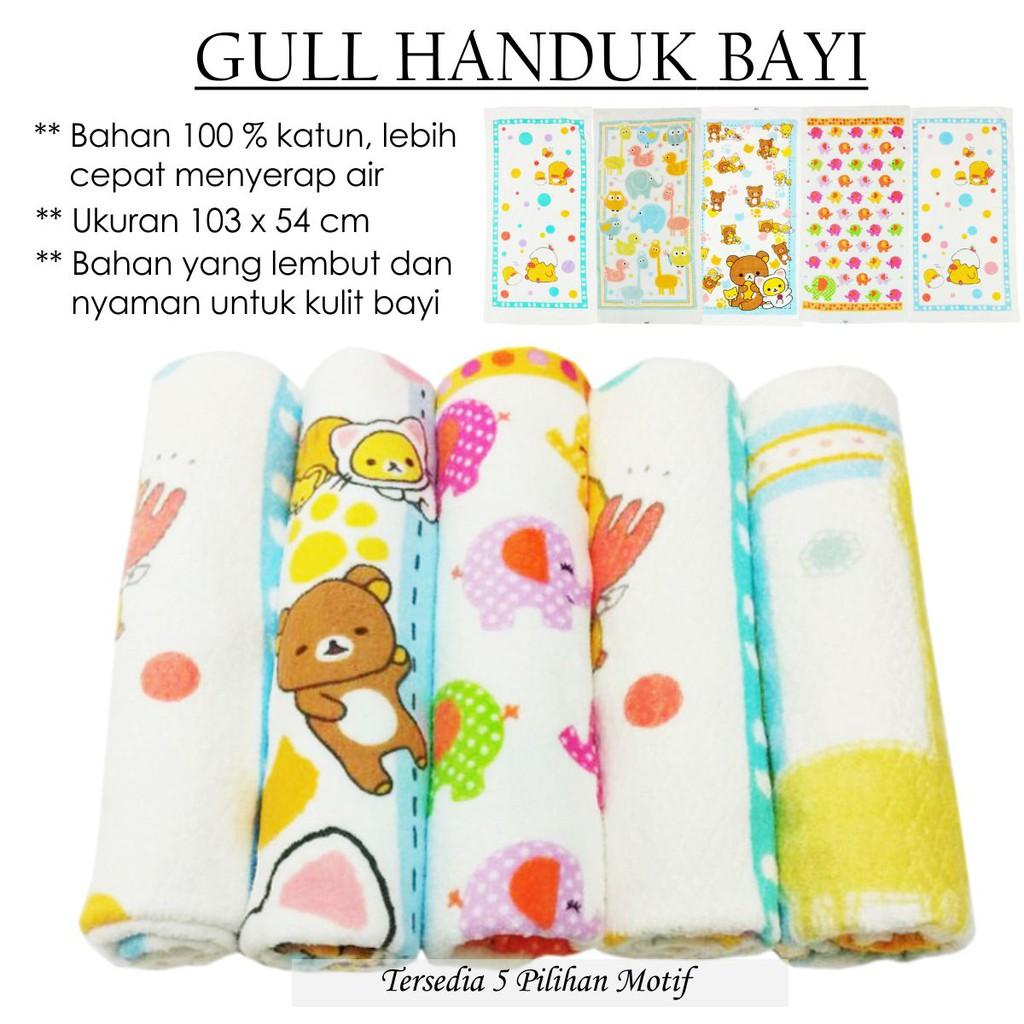 Handuk Bayi Lembut Halus Baby Ivory Perlengkapan Motif Shopee Indonesia