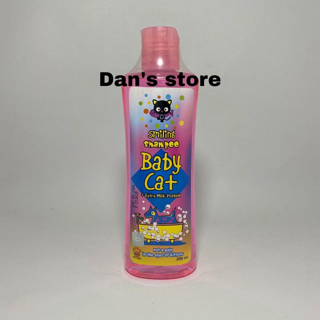 Smilling Baby Cat Shampoo - Sampo Anak Kucing Aman Tidak Pedih Dimata-2
