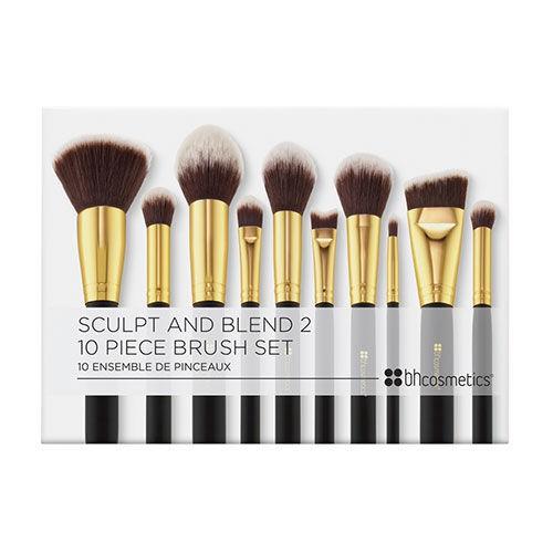 BH Cosmetics Sculpt and Blend 2 - 10 Piece Brush Set