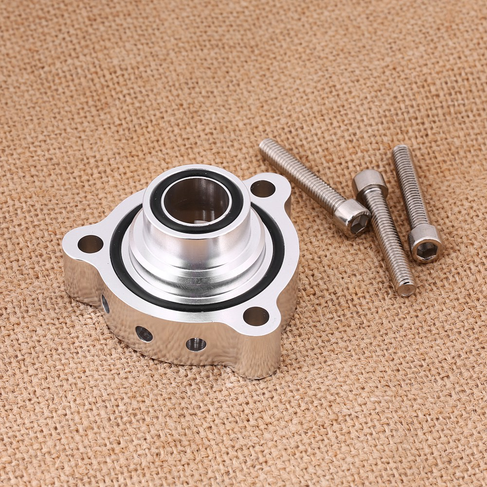 New 50mm Universal Vband BOV Flange 3 Tube Pipe Blow off Valve Turbo