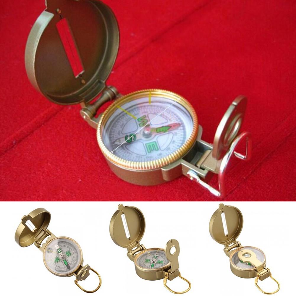 Kompas Bidik Lensa Bahan Besi Lensatic Compass Matrial Metal Penunjuk Arah Mata Angin Lensatik Shopee Indonesia