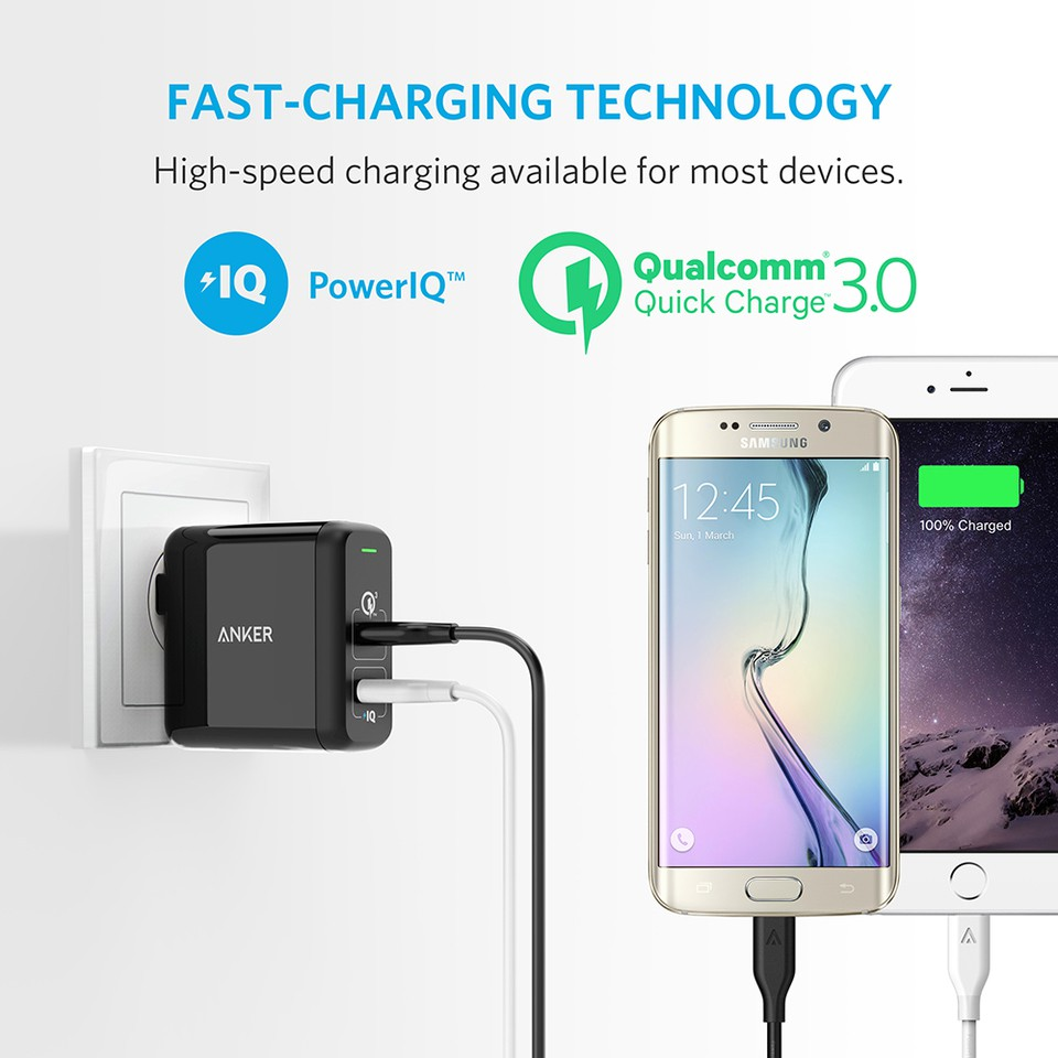 Anker Powercore 26800 And Powerport 1 Hitam Daftar Harga Terkini Quick Charge 30 Premium Travel Pouch 13400 Mah For A7099081 Shopee Indonesia