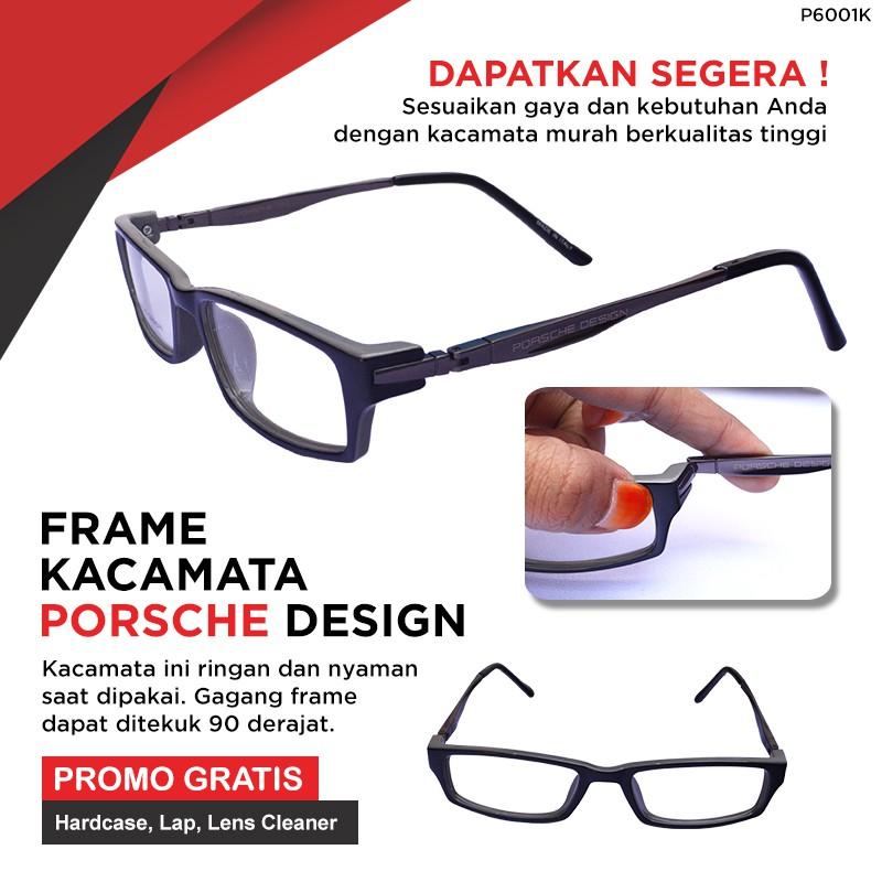 Frame Kacamata Pria Sporty Model Keren Bergaransi Bisa Lensa Minus d8679529ac