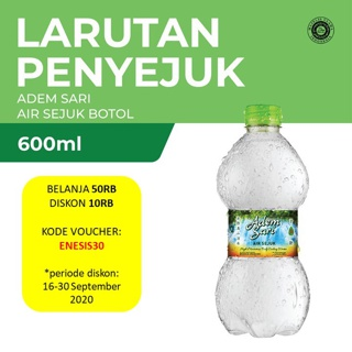 Adem Sari Air Sejuk 600 ml