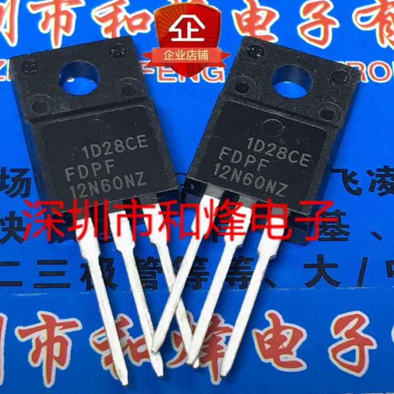10pcs Fdpf12N60Nz To-220F 600v 12a 100%