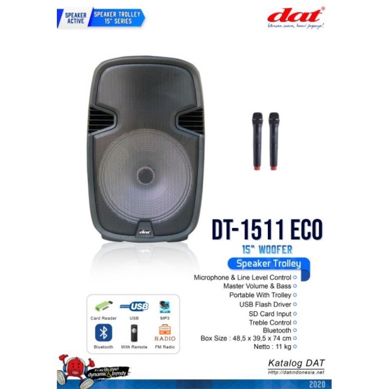Speaker DAT Trolley DT 1511