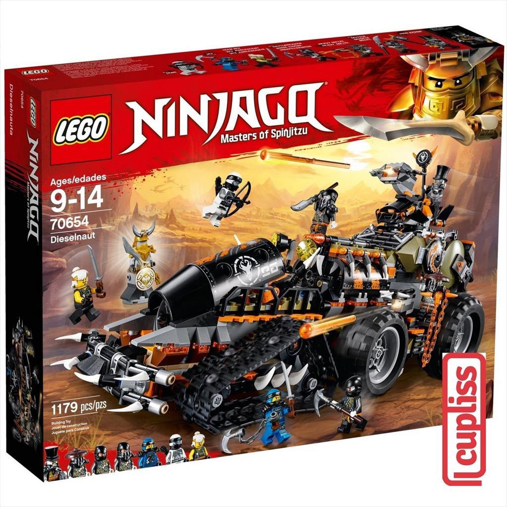 lego ninjago 70654 dieselnaut  shopee indonesia