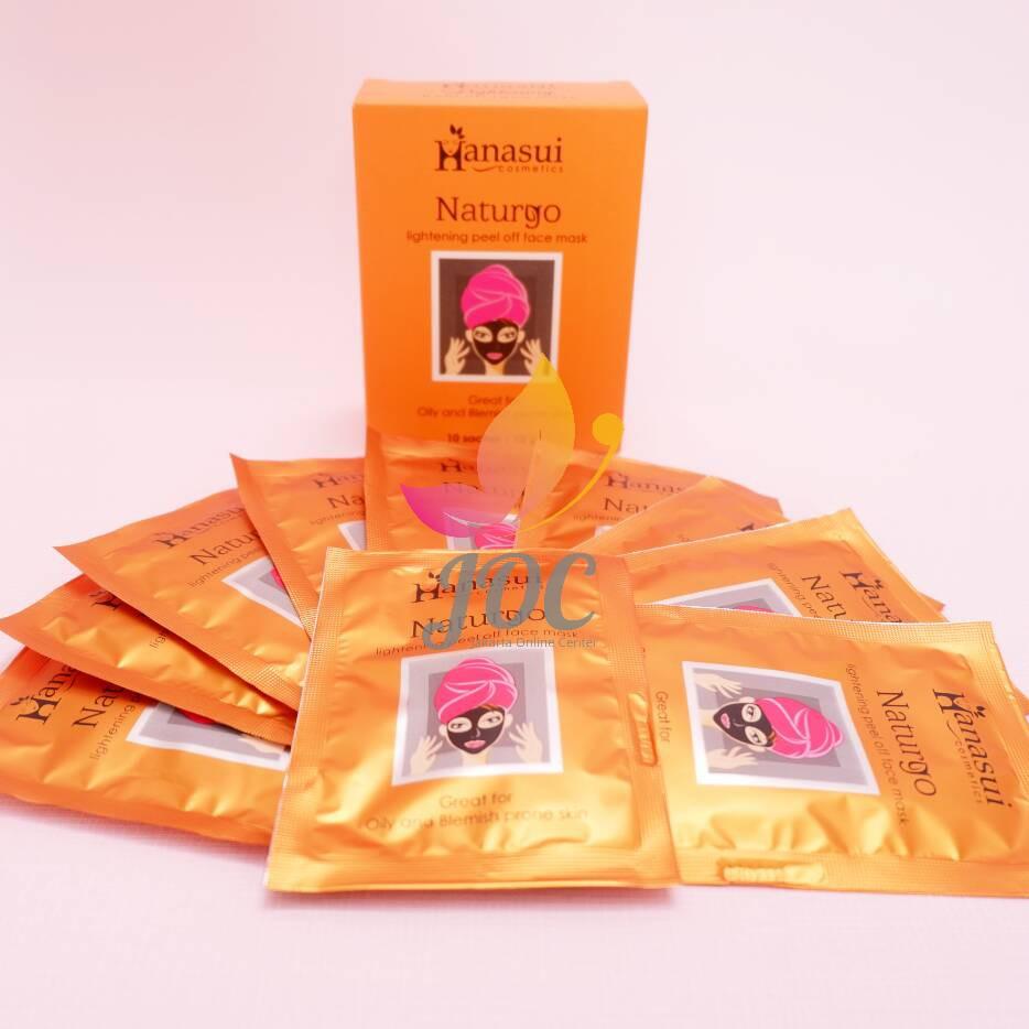 Naturgo Bpom Box Hanasui Masker Lumpur Original 100 Per Shopee Indonesia