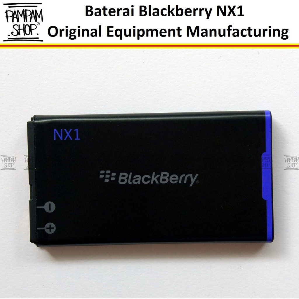 Baterai Handphone Blackberry NX1 Q10 Original 100% | Battery, Batre, Batrai, BB, NX 1, Q 10 | Shopee Indonesia