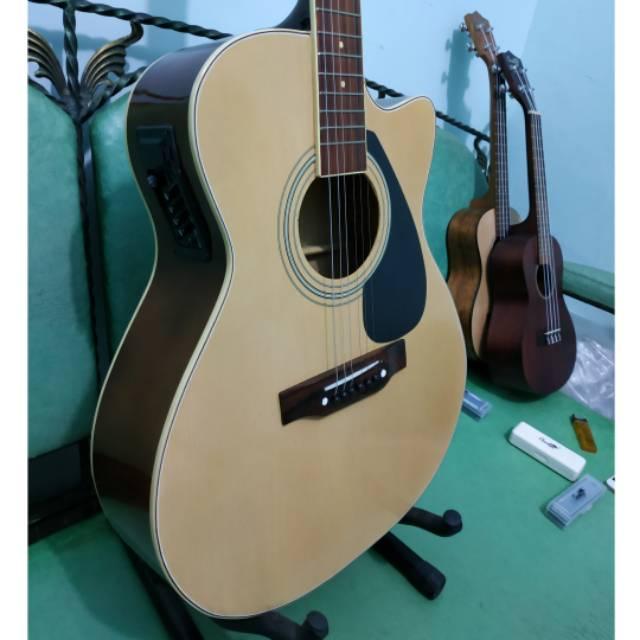 Gitar Akustik Elektrik Merk Taylor Natural Eq7545 Murah Jakarta