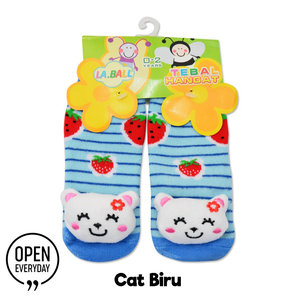Kaos Kaki Bayi Tebal 3D ANTI SLIP 0 1TH CAT