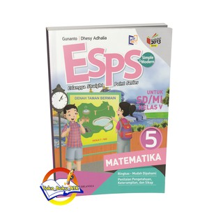 Buku Matematika Kelas 4 Sd Kurikulum 2013 Senang Belajar Matematika Shopee Indonesia