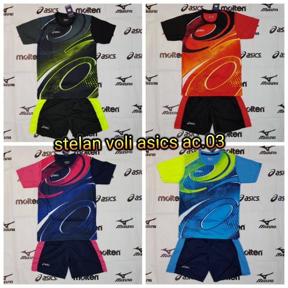 Celana Kolor Asics Volly Full Printing  7091f99778