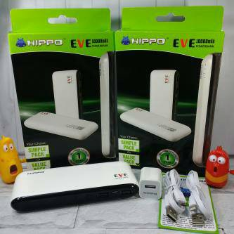 Hippo Powerbank Bronz x Simple Pack 7500mAh Dual Output Original100% #AC007   Shopee Indonesia