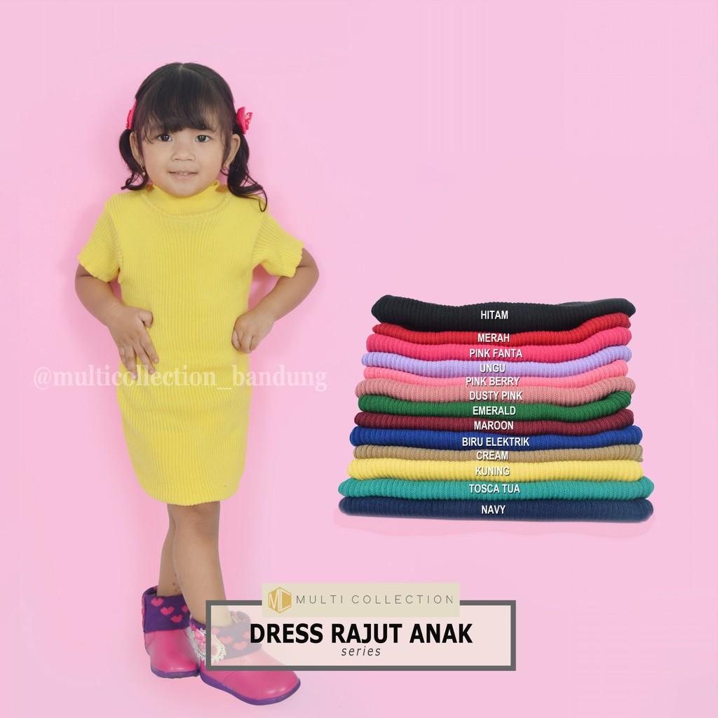 Baju Rajut Anak Kalila Dress atau MEDINA dress  a6a14b3a5e