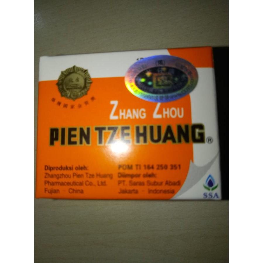 Bestseller Pien Tze Huang Obat Cina Pasca Operasi Shopee Indonesia Zhang Zhou