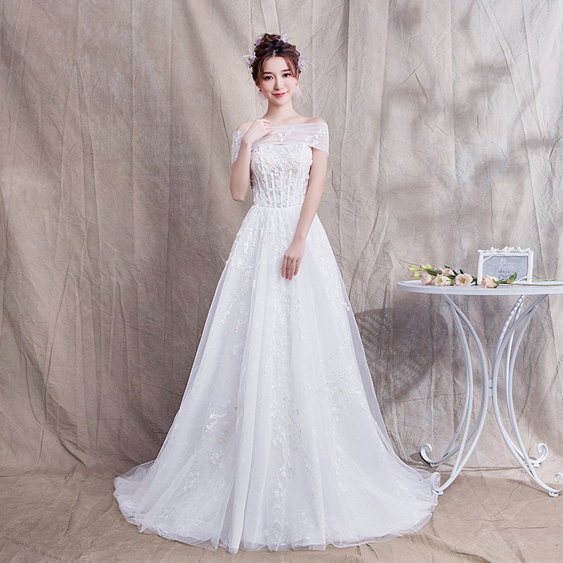 Gaun Pengantin Temukan Harga Dan Penawaran Dress Online Terbaik