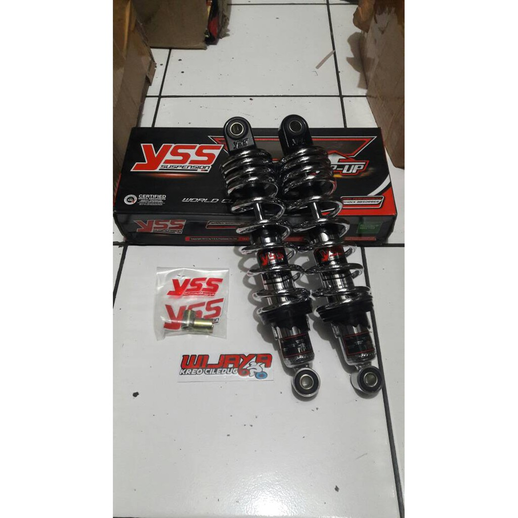 Zt5050 Shockbreaker Kyb Zeto Supra X Karisma Revo Blade Kayaba 340mm Shock Breaker Ride It Fit New 125 Kharisma Shopee Indonesia