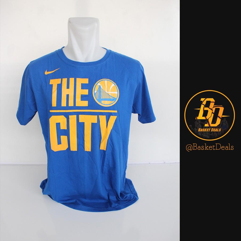 size 40 9df03 cf31e Baju Kaos baju Basket Nike NBA Golden State Warriors - THE CITY BLUE