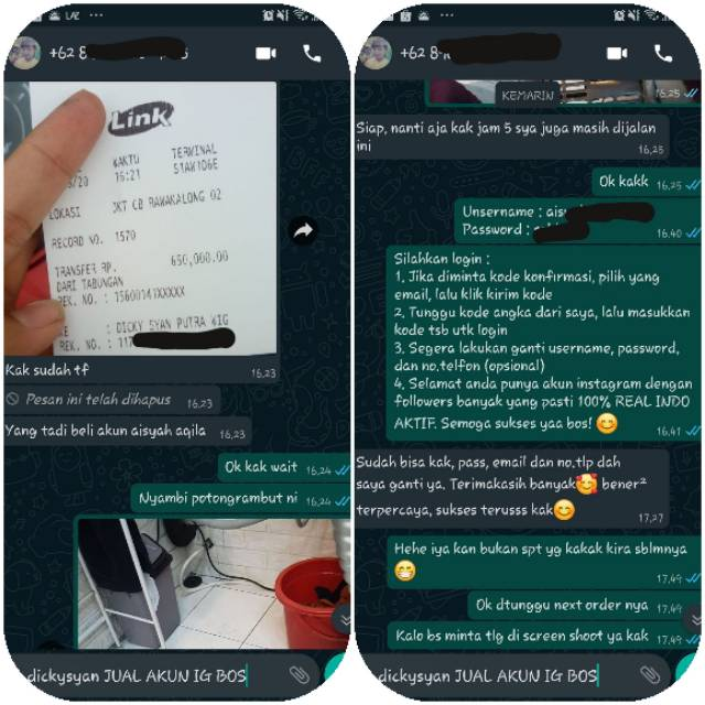 Jual Akun Instagram Termurah Real Indo 100 Shopee Indonesia