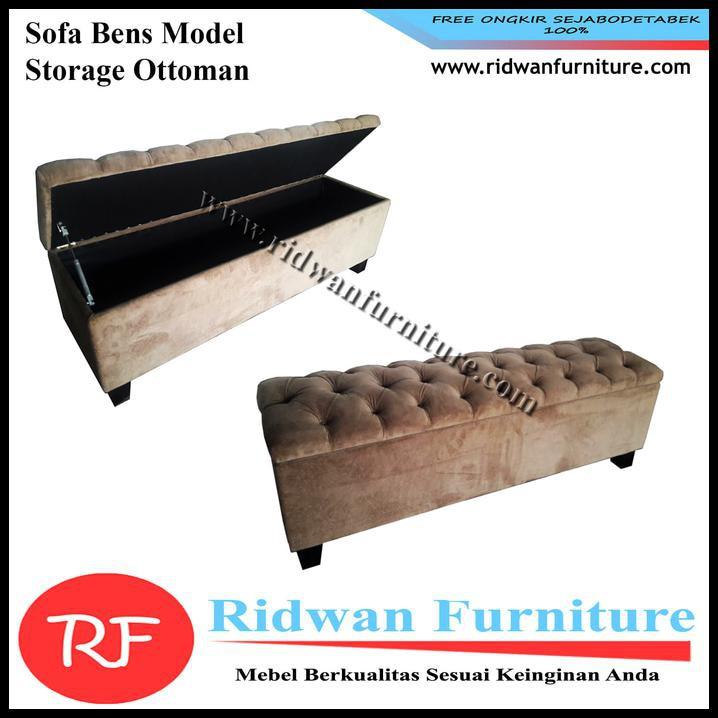 Harga Diskon Bench Sofa Multifungsi Rotan Sintetis Shabby Termurah